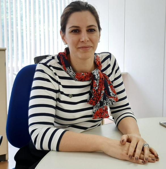A assessora especial do Ministério da Economia, Vanessa Canado. — Foto: Alexandro Martello/G1