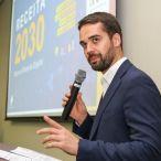 Governador Eduardo Leite anuncia medidas para modernizar a arrecadação de impostos — Foto: Gustavo Mansur / Palácio Piratini