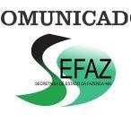 Comunicado Sefaz